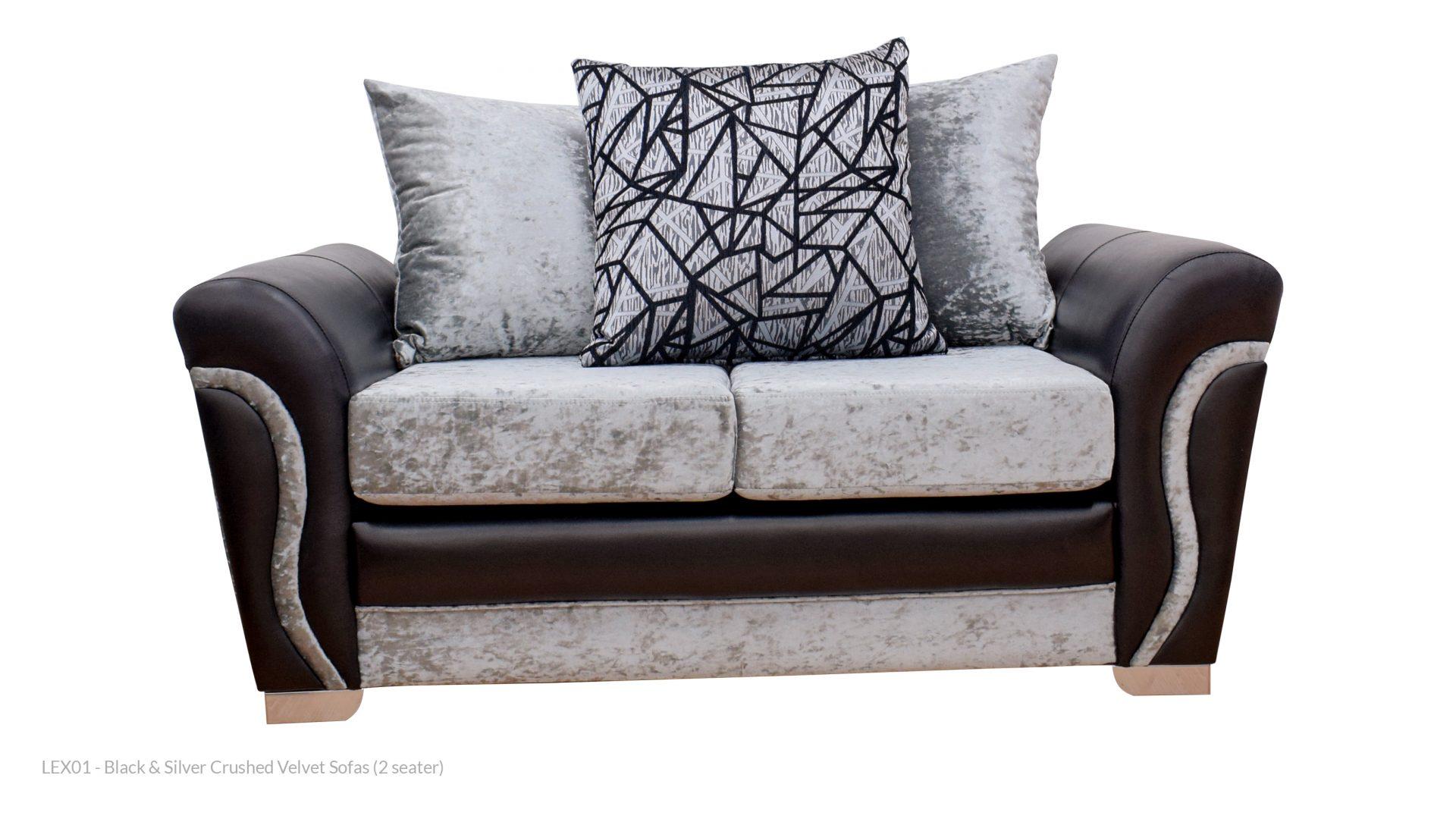 Crushed Velvet Sofas Rental Goods